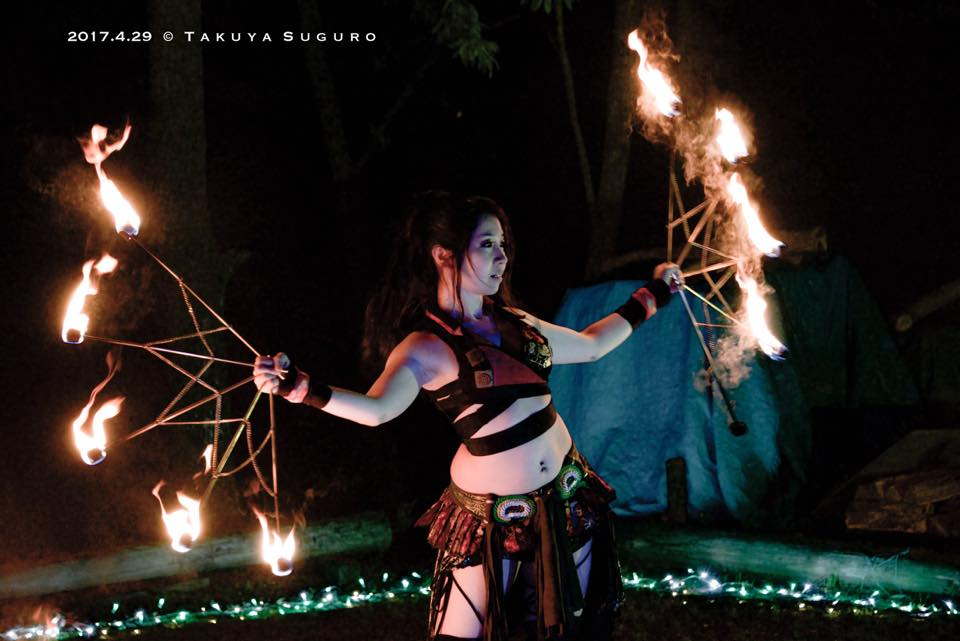 炎扇の踊子