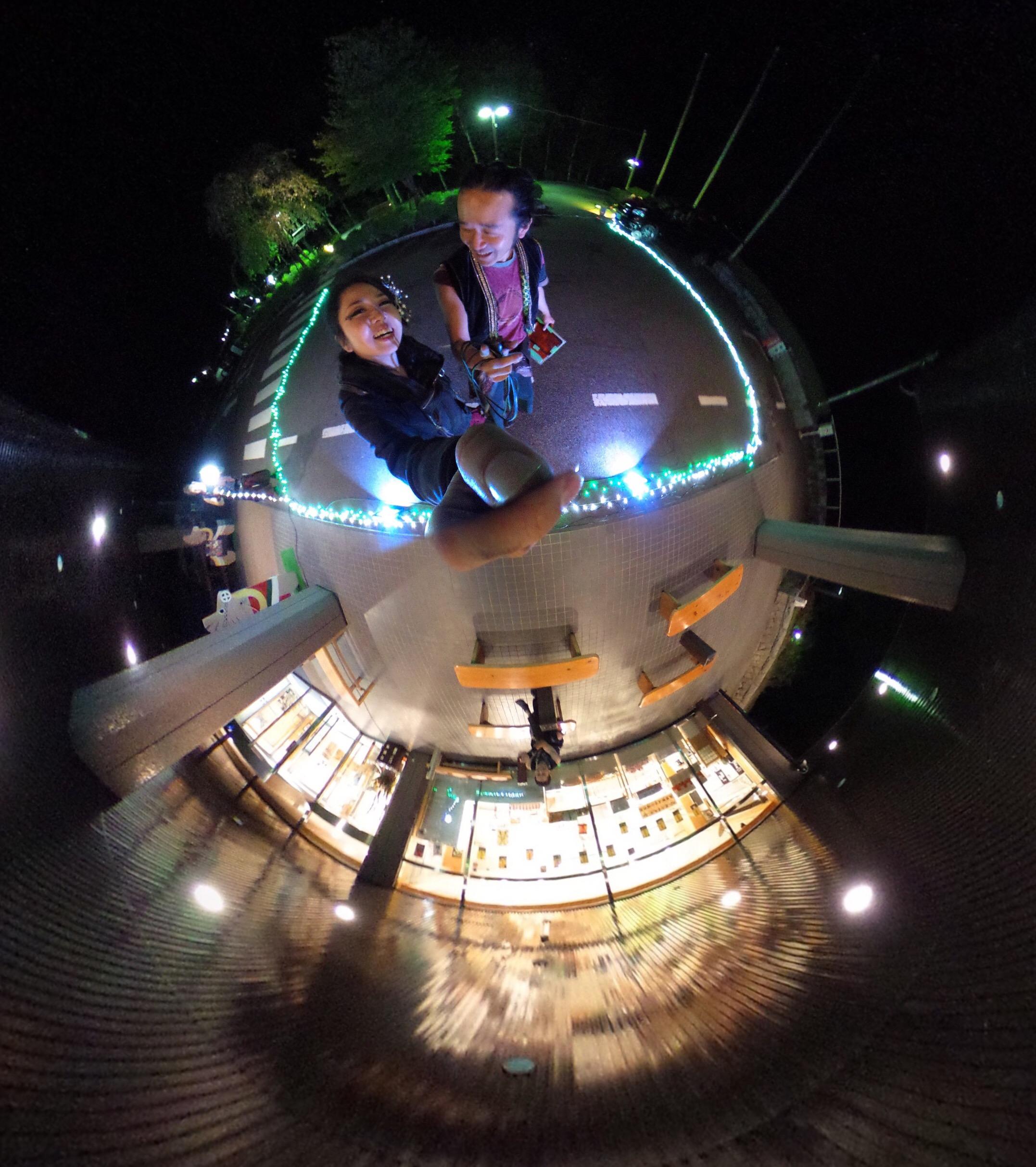 木曽駒高原ホテルでファイアーショー