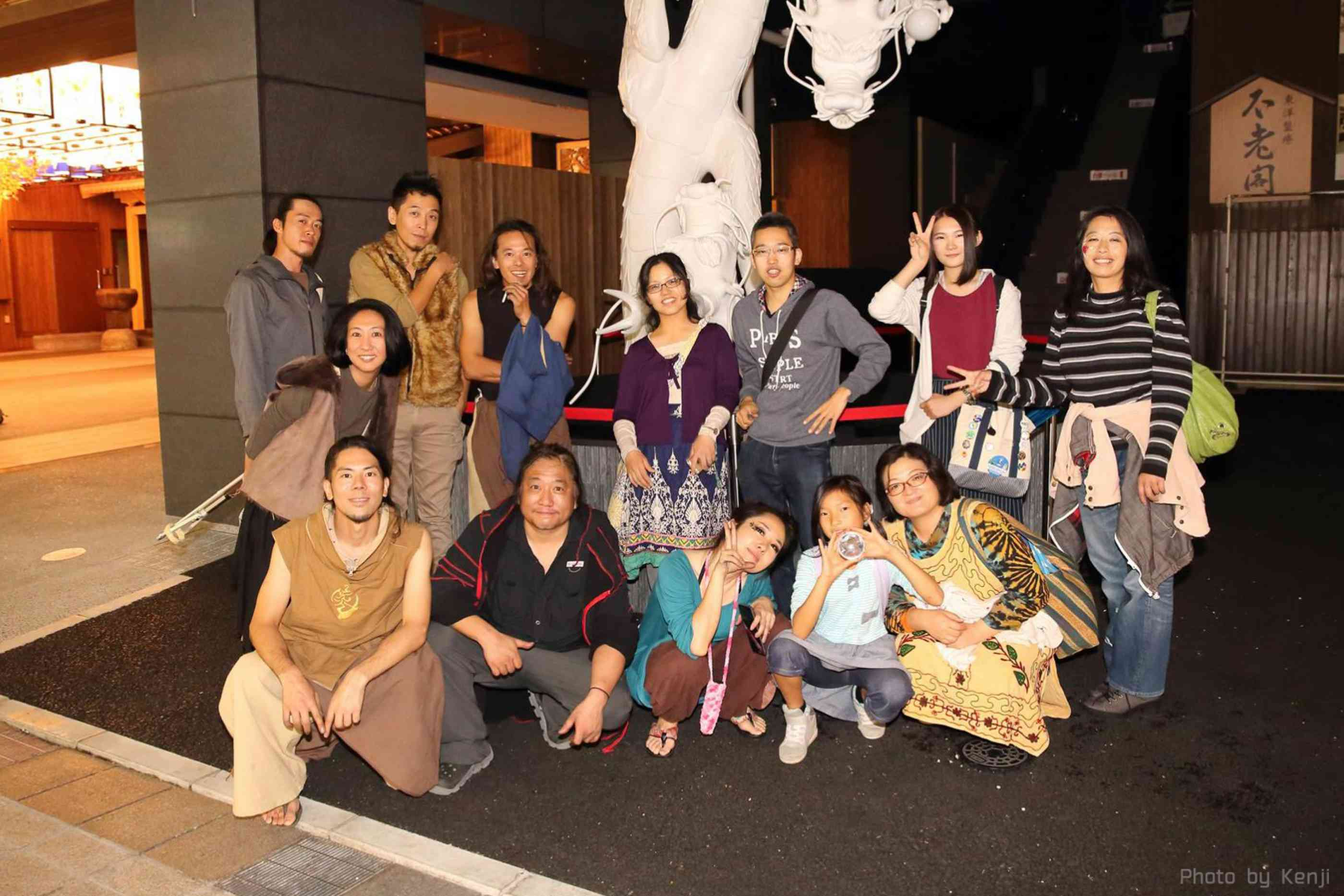 大須大道町人祭見に来てくれたみんな