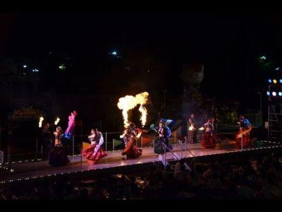 【火付盗賊&火蛇サラマンドラ】ファイヤーベリーダンス@西武園遊園地
