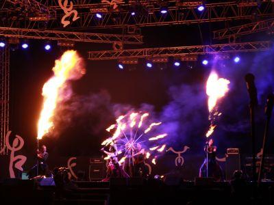 【火付盗賊】ファイヤーショー@チュンチョンマイムフェスティバル