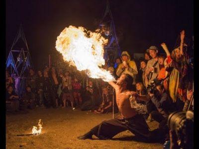 【火付盗賊&火蛇サラマンドラ】Fire Breath 火吹き