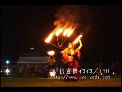 【火蛇サラマンドラ】火付盗賊イヨイヨ ファイヤーファンズ Fire Fans