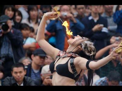 【火付盗賊&火蛇サラマンドラ】Fire Eater 火喰い・火飲み