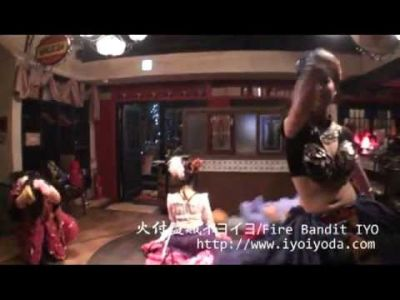 【火蛇サラマンドラ】火付盗賊イヨイヨ&ココ鮎美 Gypsy Fusion Belly Dance