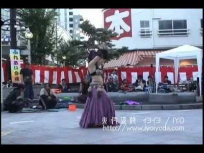 【火蛇サラマンドラ】火付盗賊イヨイヨ Fusion Belly Dance @ 大須大道町人祭
