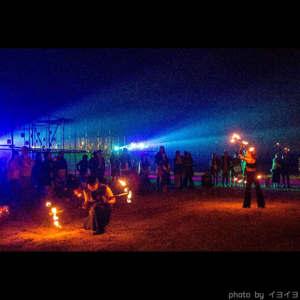 チュンチョン国際マイムフェスティバル(韓国) のファイアーゾーン