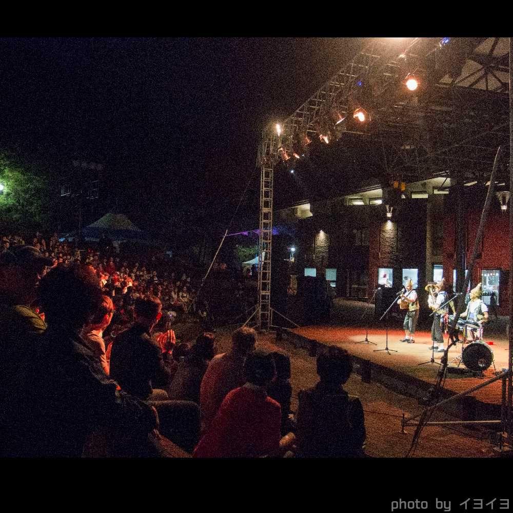 チュンチョン国際マイムフェスティバル(韓国) のステージ