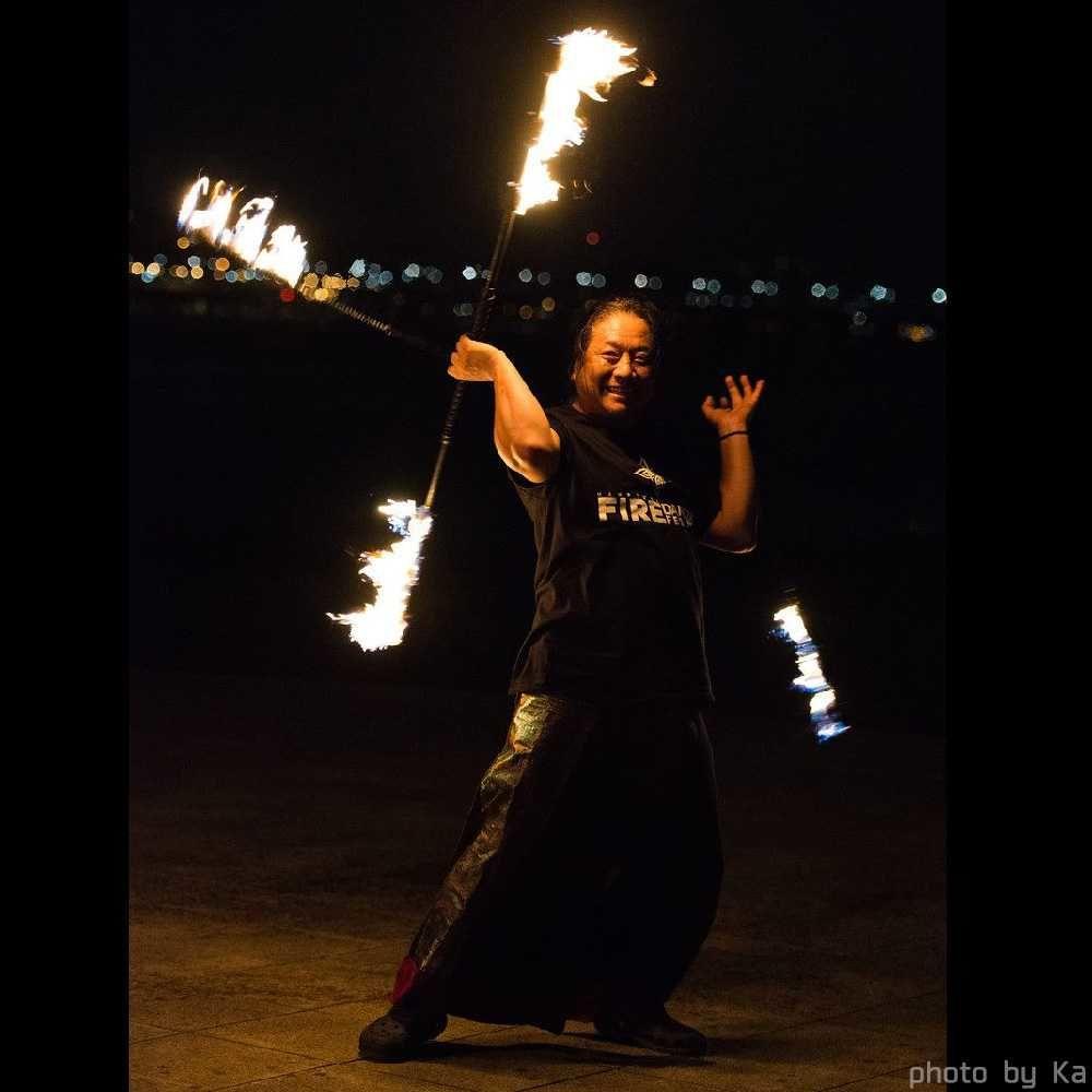 韓国ファイアーフェスティバルの火付盗賊