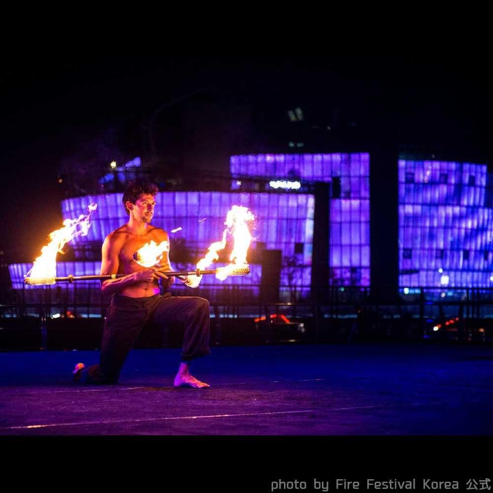 韓国ファイアーフェスティバルの海外アーティスト