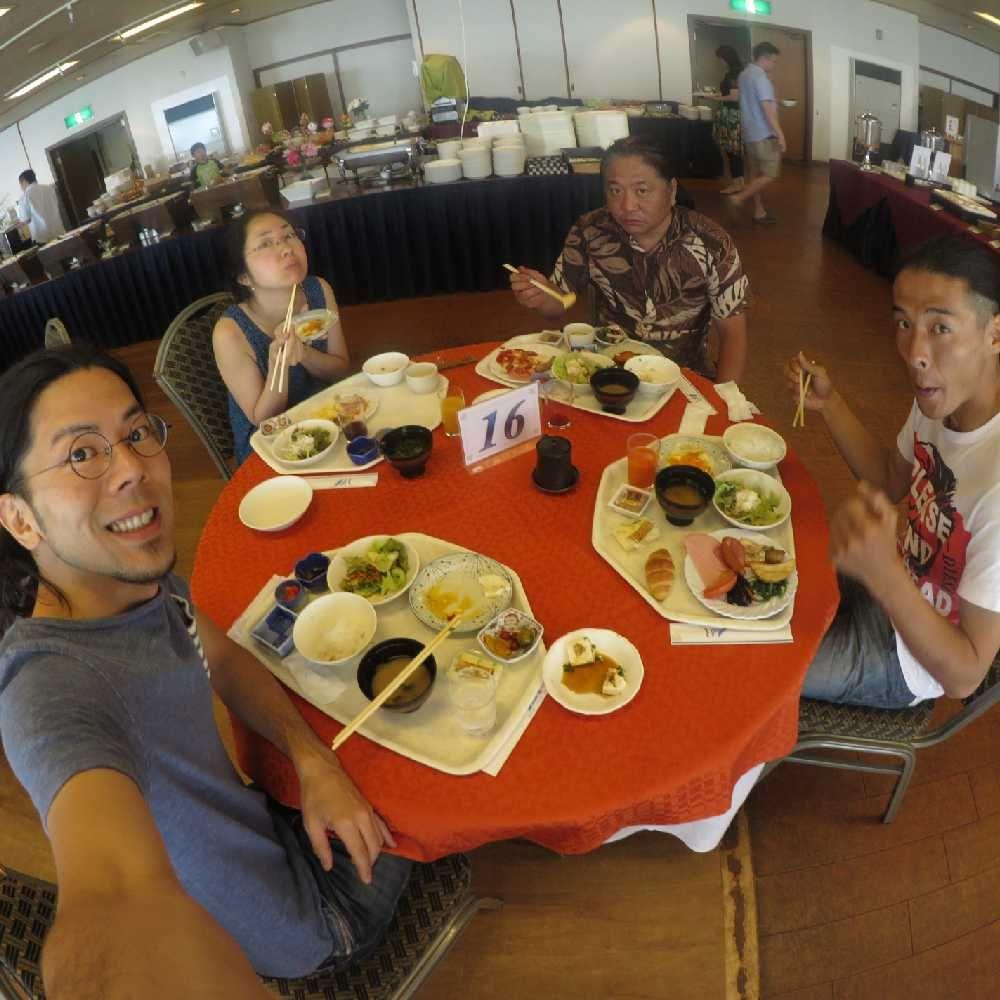 浜名湖レークサイドプラザホテルの朝食バイキング