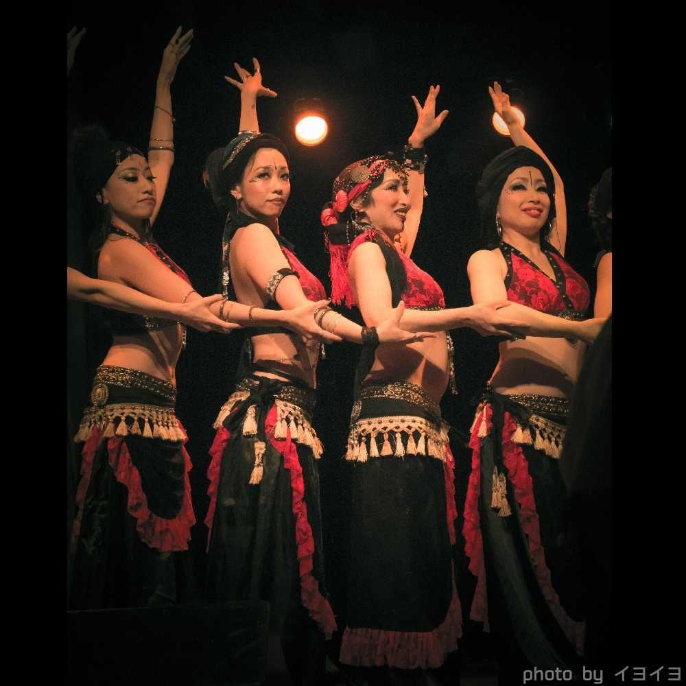 トライバルフュージョンベリーダンス