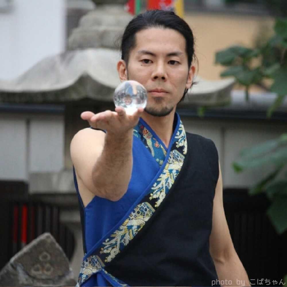 大道芸フェス大須大道町人祭ファイアーショー