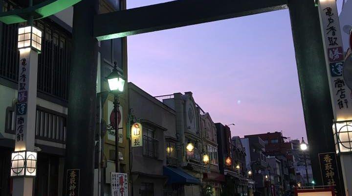 亀戸 香取勝運商店街 屋台村