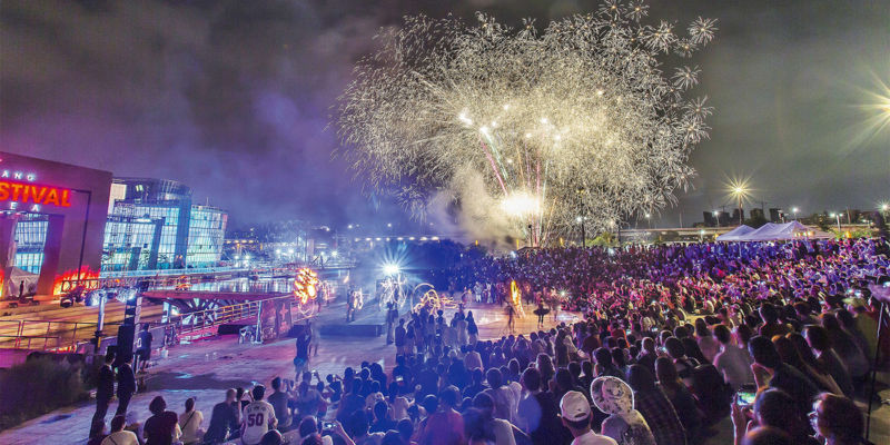 ファイアーフェスティバル韓国2017