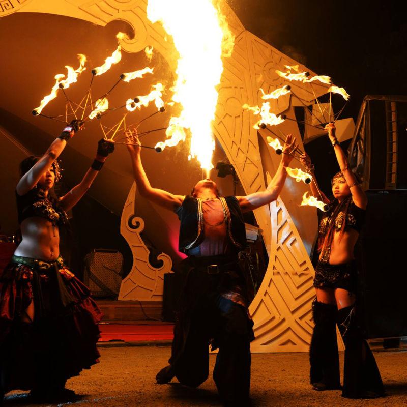 Dance of Shivaで火付盗賊ファイアーショー