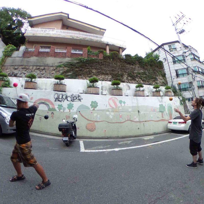 ファイアーフェスティバル韓国