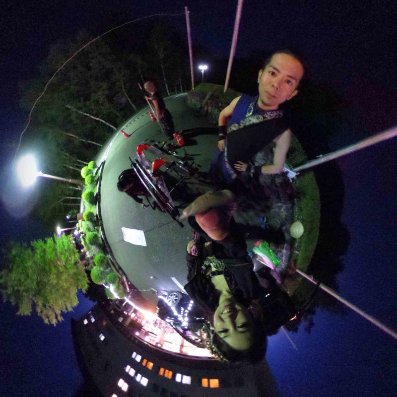 木曽駒高原ホテルで火付盗賊ファイアーショー